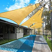 Fly Hawk 13'x13'x13' Patio Sunshade Cover Canopy for Free