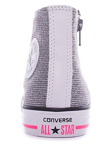 Converse - Converse All Star Ct Side Zip Hi Sportschuhe Silber Weiss 650600C - Silber, 38,5