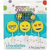 Amscan Emoji Candles Icon