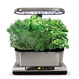 AeroGarden Miracle-Gro Harvest Elite with Gourmet Herb Seed Pod Kit,...