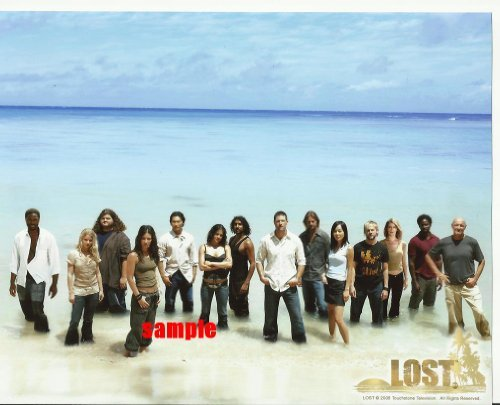 Lost the television series Cast Picture #1 with 14 cast members 8 x 10 inches Photo LostTV2007