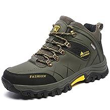 YACASU Water-proof Outdoor Trail Shoes Hiking Shoes for Men