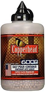 Crosman Copperhead 6000 Copper Coated BBs Cal. 4.5mm in a Bottle (3 bottles)