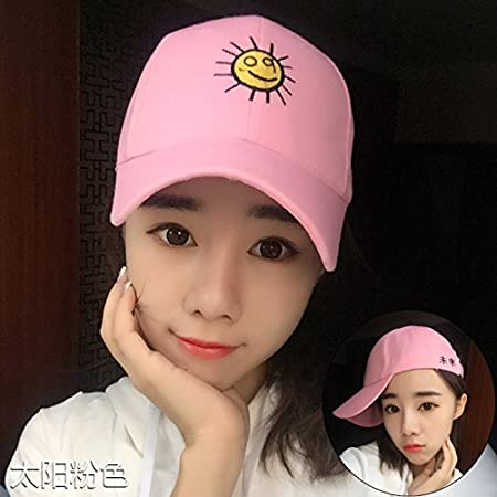 Amazon.com: BTBTAV Ladies Winter Baseball Cap Hat Travel Leisure Cap Visor Male All-Match Sun hat and Ms. Peaked Cap,Adjustable,Little Fish Pink -1: Home & ...