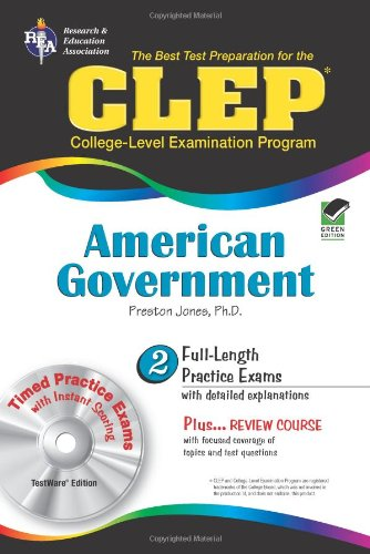 CLEP American Government w/ CD-ROM (CLEP Test Preparation)