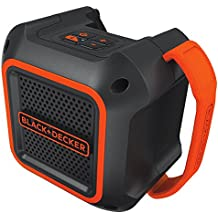 Black & Decker bdbts20b 20 V max altavoz bluetooth inalámbrico con adaptador