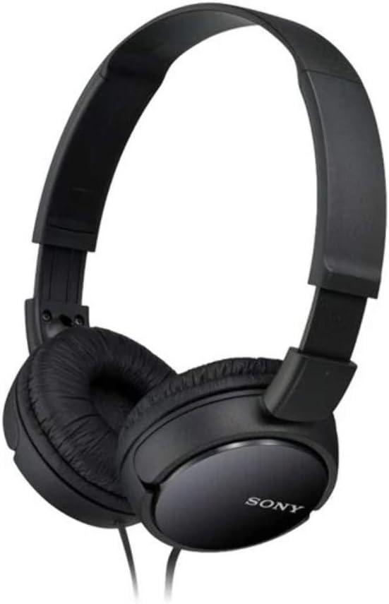 Sony MDR ZX110 Cuffie On Ear, Nero