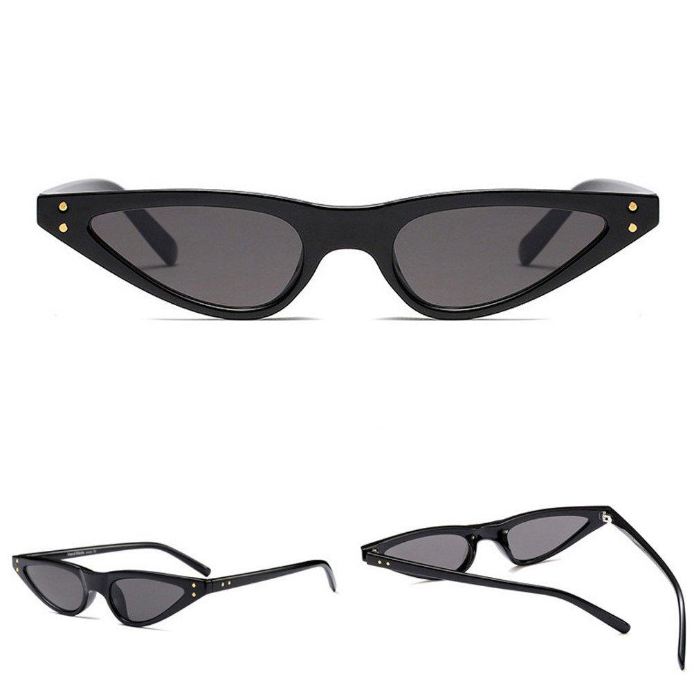 Occhiali da Sole Topgrowth Retro Unisex Bicchieri Per Driver Guida Triangle Donna Occhio di Gatto Vintage Sunglasses Cat Eye UV400