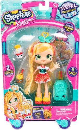 Shopkins World Vacation  Shoppies Doll - Spaghetti Sue