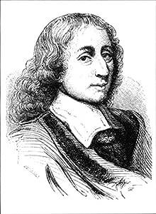 Vintage fotografía de retrato de Blaise Pascal.: Amazon.es