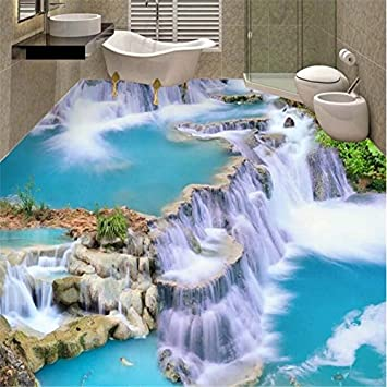 Yuxua 3d Tapete Hintergrundbild Walllpaper Wasserfall