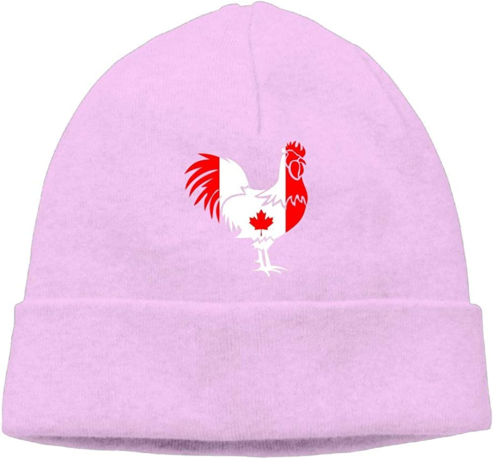 COLLJL8 Men//Women Canada Flag Outdoor Stretch Beanies Hat Soft Winter Knit Caps