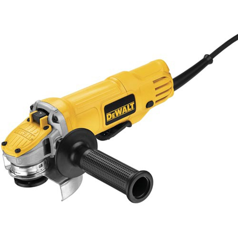 DEWALT DWE4120 4 1/2-Inch Paddle Switch Angle Grinder, Small