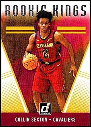 huge selection of a8353 79a82 Amazon.com: 2018-19 Donruss Rookie Kings #16 Collin Sexton ...