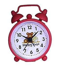 HAPPY PEPI Alarma de Viaje Despertador niños Mini - Rojo ...