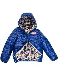 Marvel Avengers Boys Ultralight Hooded Puffer Jacket,...
