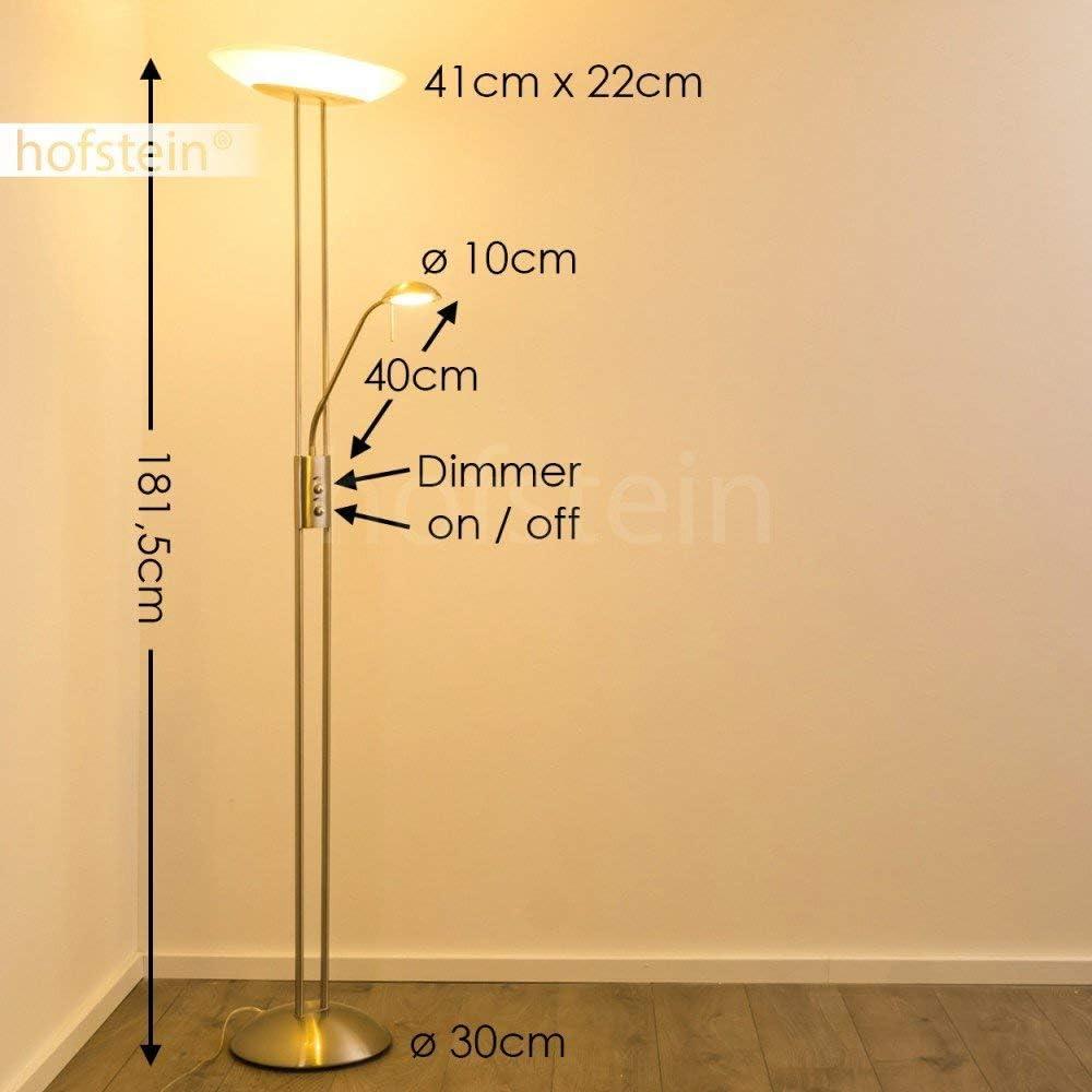 LED Steh-Lampe Deckenfluter Lese-Licht Design Flur Esszimmer Stand Boden Leuchte