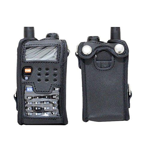 Cikuso Radio de Dos vias para Baofeng intercomunicador Accesorios Piel Suave Cubierta para UV-5R 5RE UV UV-5RA