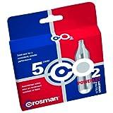 Cartuchos de CO2 Crosman 12 gramos, 5 cartuchos