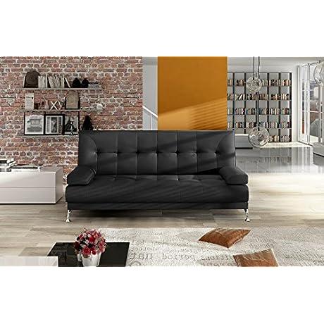 Venice SB02 Sleeper Sofa Black