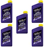 Royal Purple 11487 Break-In Engine Oil 10W-30 for Performance Engines w/ Flat Tappet Camshafts and Lifters - 1 qt (Case of 5)