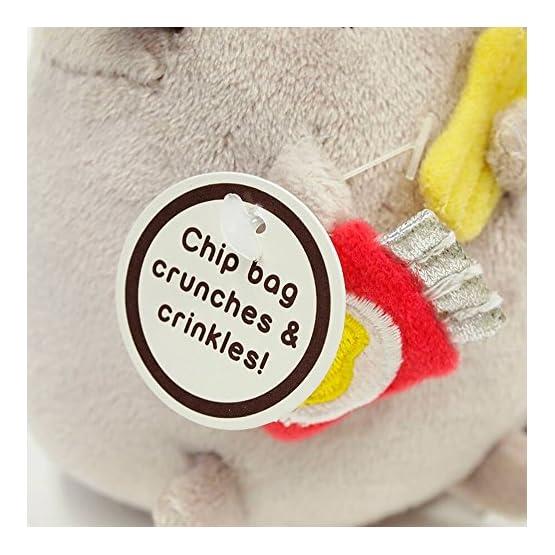 Pusheen Food Plush   Bag Keychain Clip - 5 Inch 7