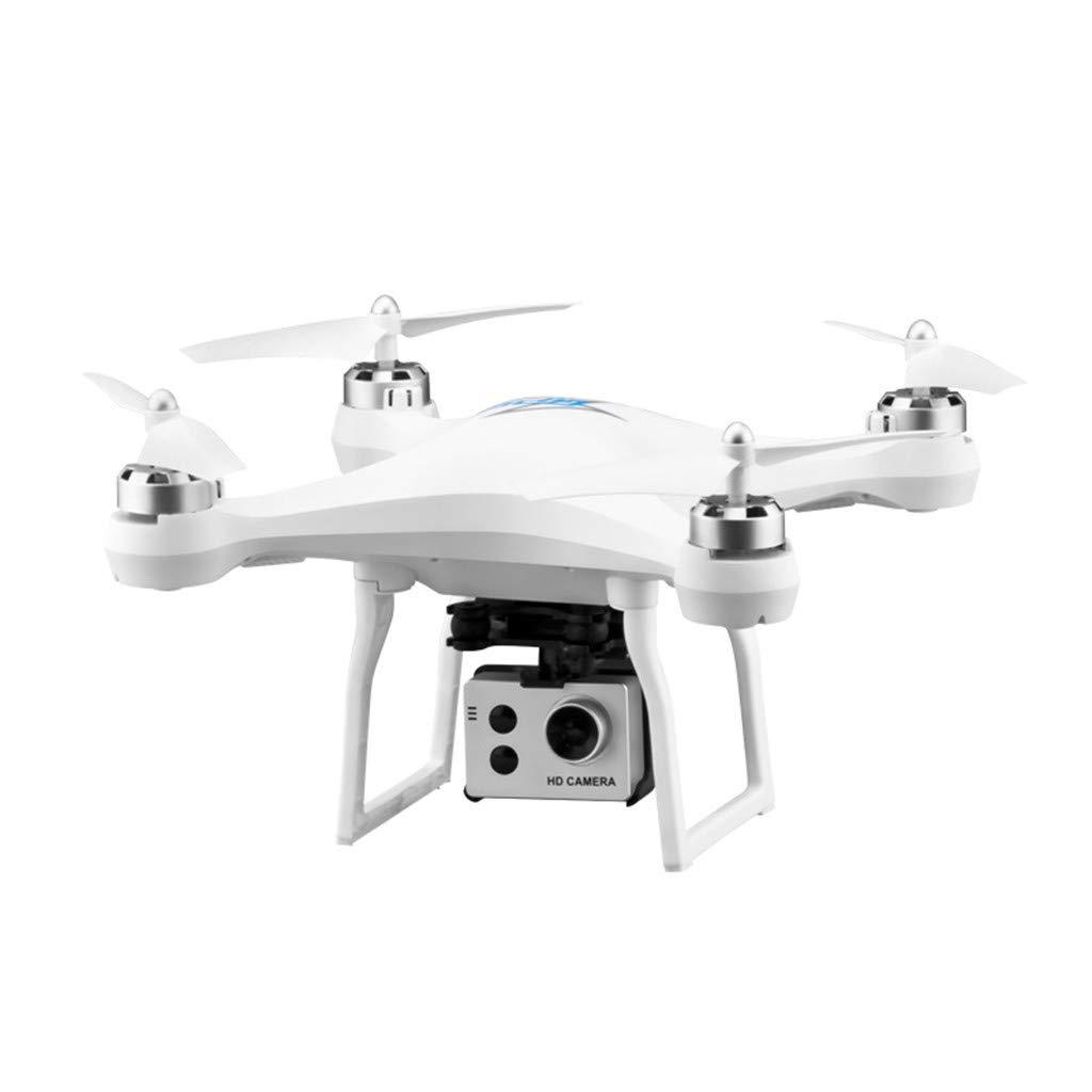 CarJTY  S2 5MP 1080P Weißinkel WiFi FPV HD Kamera GPS Folgen RC Drone Quadrocopter Cooles Farbdesign, präzise Luftstromstabilität Weiß