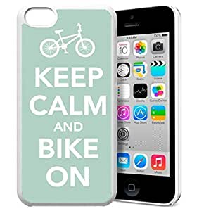 diy phone caseKeep Calm and Bike On Pattern HD Durable Hard Plastic Case Cover for iphone 6 plus 5.5 inch Design By GXFC Casediy phone case