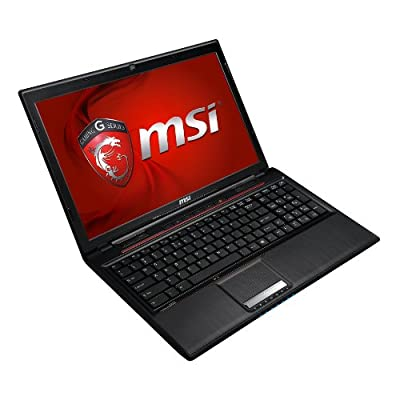 MSI GP Series GP60 Leopard-836 15.6-Inch Gaming Laptop (Black)