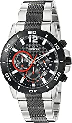 Invicta Watches Mens Pro Diver Chronograph Two-Tone Ion Plated Stainless Steel