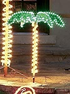 Amazon.com: 4.5' Tropical Lighted Holographic Rope Light ... on Backyard Decorations Amazon id=80160
