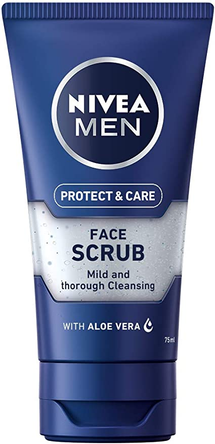 Nivea men - Exfoliante facial, pack de 3 (3x 75 ml): Amazon.es ...