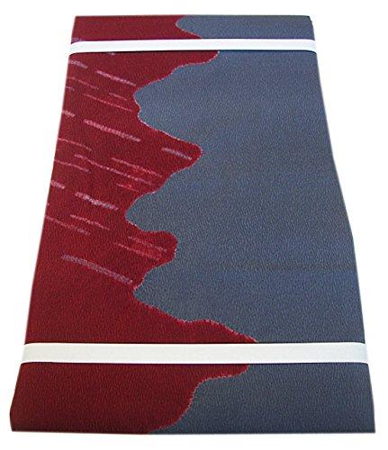 配列微妙範囲博多着物市場 きものしらゆり 縮緬 染 名古屋帯 正絹 仕立て上がり