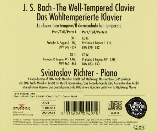 well tempered clavier book 2 pdf