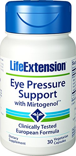 Life Extension Eye Pressure Support w/Mirtogenol 120 Mg, 30 Vcaps (30 Pack of 2)