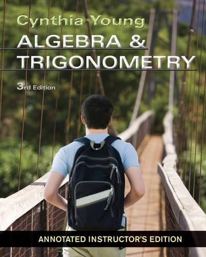 Algebra and Trigonometry Aie