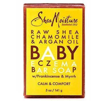 SHEA MOISTURE SOAP,ECZEMA,BABY,RAW SHEA, 5 OZ, 12 pack