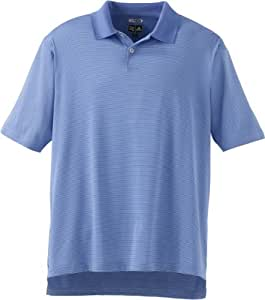 Adidas Golf A19 ClimaCool Mens Classic Stripe Jersey Polo - Bliss/Royal - Small