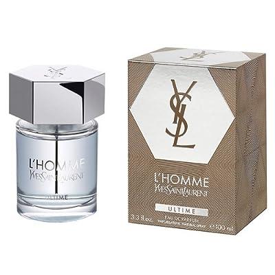 Yves Saint Laurent L'Homme Ultime Eau De Parfum Spray For Men, 3.3 Ounce