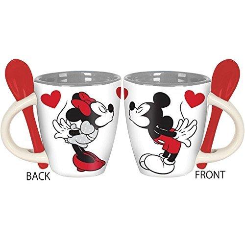 Disney Kissing Minnie and Mickey Mini Espresso Mug with -