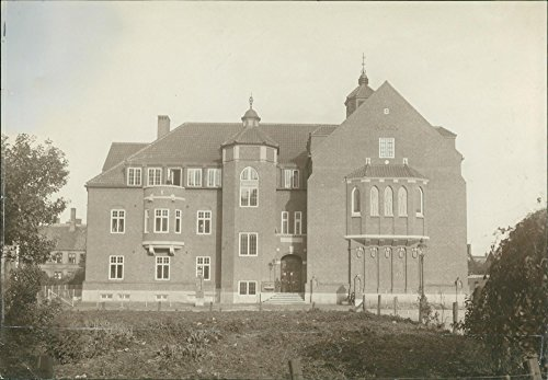 Vintage photo of The new K.F.U.M. (YMCA) building in - Ymca New Building
