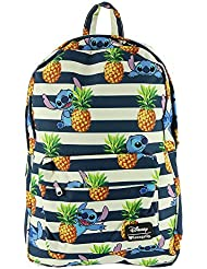 Loungefly Stitch and Stripe Backpack