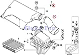 BMW Genuine Air Duct - Air Filter Housing To Radiator Air Duct X5 3.0i