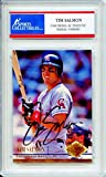 Tim Salmon Autographed Los Angeles Angels of Anaheim Encapsulated Trading Card - Certified Authentic