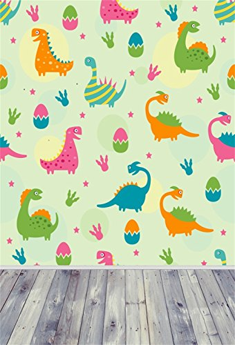 AOFOTO 3x5ft Cartoon Dinosaur Backdrops Abstract Easter Eggs Photo Shoot Background Photography Studio Props Boy Kid Child Toddler Girl Artistic Portrait Digital Video - Youtube Predator 2