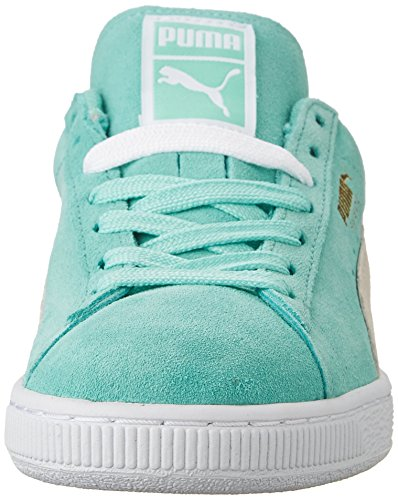 PUMA Womens Suede Classic Wns Classic Style Sneaker,Holiday/White,8 B US