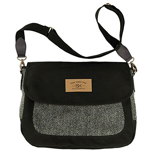 Stormy Kromer Women's Companion Purse With Harris Tweed, Lowell, OS by Stormy Kromer