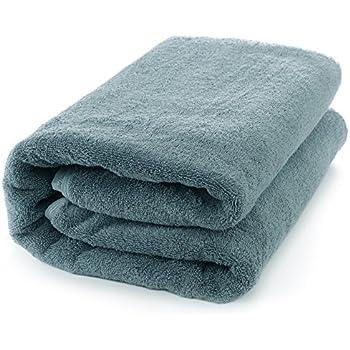 Luxury Turkish Cotton Large Bath Sheet, Eco-Friendly 650 Grams (Oversized 40x80 inches, True Blue)