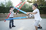 10 Premium - Inflatable Light Saber Swords, Lightsaber, Party, Gift, Action Play, Blow Up (Multi 10-Pack)