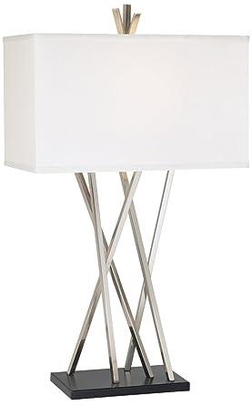 Possini Euro Design Asymmetry Table Lamp Amazoncom